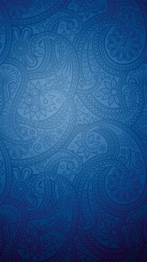 paisley pattern iphone wallpaper blue paisley wallpaper wallpapersafari
