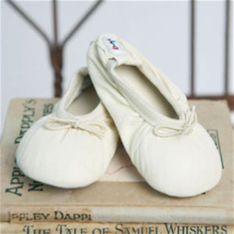 ivory ballet slippers baptism shoes ivory ballet slippers cheeky