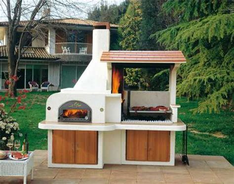 Outdoor Kitchen Bbq Designs | outdoor bbq kitchen islands spice up backyard designs and