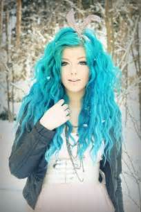 turquoise color hair turquoise hair dye hair ideas