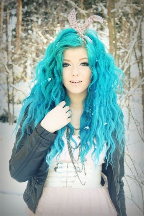ideas  turquoise hair dye  pinterest