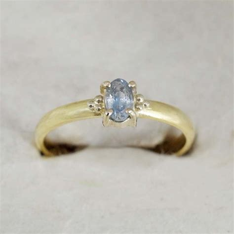 solid gold engagement ring 18k solid yellow gold light
