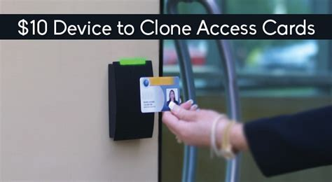 access one card this 10 device can clone rfid equipped access cards easily