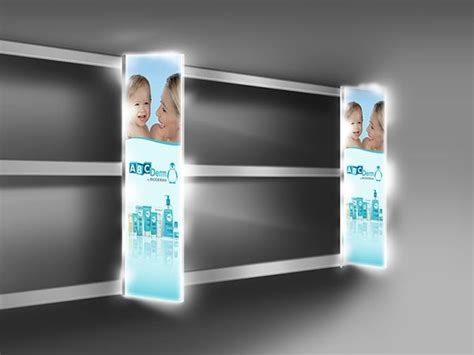 Shelf Stoppers by Lightening Products Pos Lab International