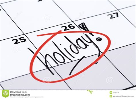 download holiday calendars to enhance your vacation finally holiday royalty free stock image image 5428006