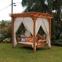 Porch Swings Home Depot Swings Beds And Canopies On Pinterest Canopy Swing Schwep