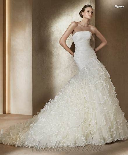 cocktail jurken pronovias pronovias vestidos de novias