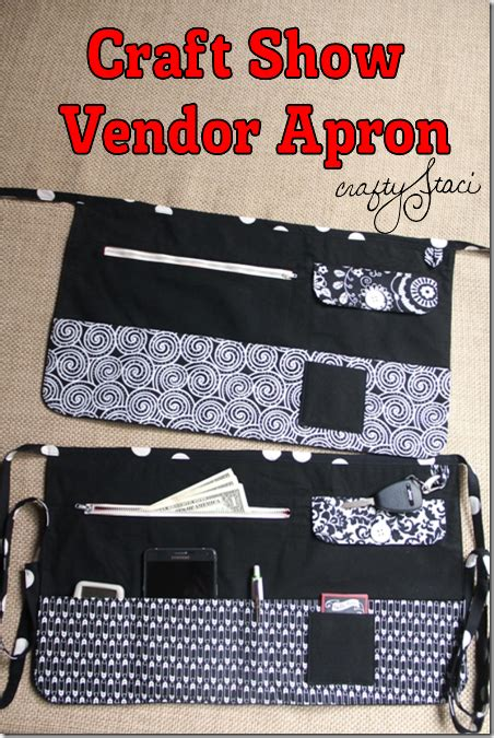 pattern for vendor apron diy craft show vendor apron pattern from crafty staci