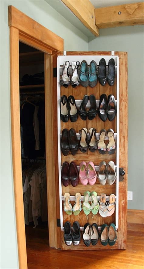 diy shoe rack for closet 7 diy shoe storage