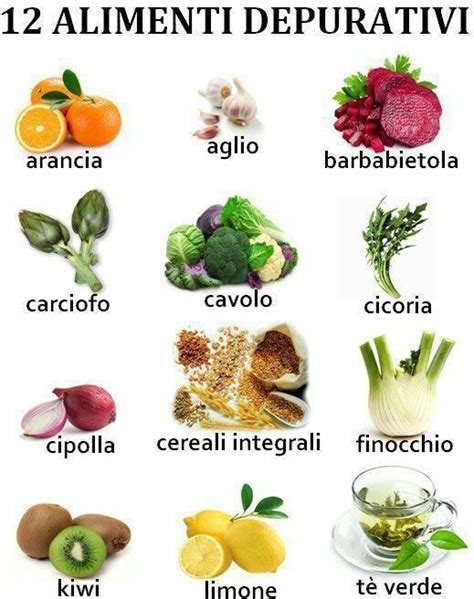 vitamina p alimenti gli alimenti che ci aiutano a depurare l organismo