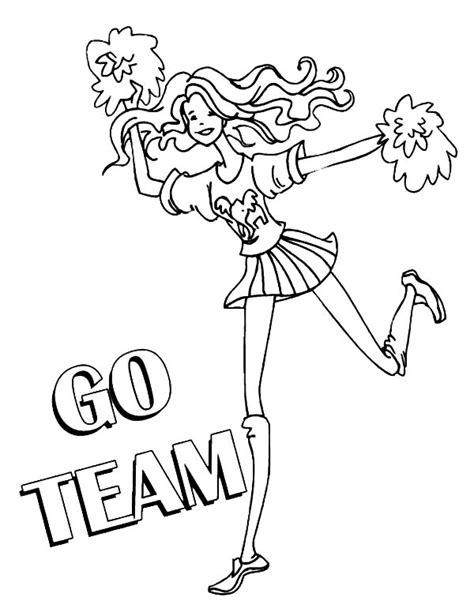 barbie cheerleader coloring pages barbie cheerleader coloring pages bltidm