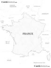 France Map Blank by Blank Map Of France With Regions