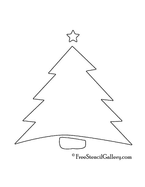 christmas tree stencil printable new calendar template site