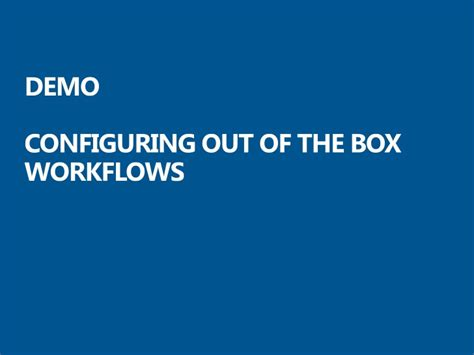 sharepoint out of the box workflows configuring workflows in sharepoint 2010