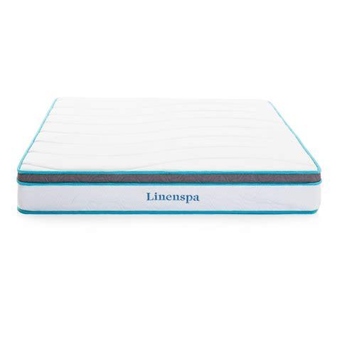 linenspa 8 inch size memory foam and mattress מטבח linenspa 8 inch memory foam and innerspring hybrid