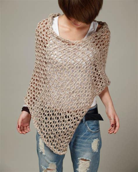 jersey poncho pattern 1000 ideas about knit poncho on pinterest crochet