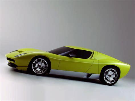 Lamborghini Miura Concept by 2006 Lamborghini Miura Concept Lamborghini Supercars Net