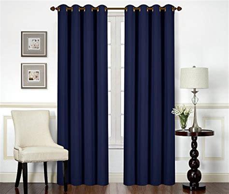 navy blue room darkening curtains blackout room darkening curtains window panel drapes