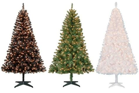 holiday time pre lit 65 madison pine white artificial christmas tree clear lights pre lit 6 5 pine artificial tree colors lights ebay