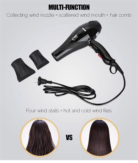 Powerful Mini Hair Dryer dropship guowei gw 4900 electric powerful portable