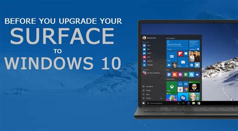 install windows 10 surface rt upgrade surface to windows 10