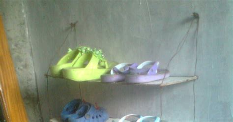 Rak Sepatu Gantung Sederhana cara membuat rak sepatu gantung sedehana dan mudah dibuat