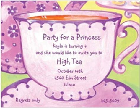 Kitchen Tea Ideas Themes tea party invitations for children