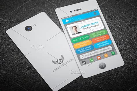 iphone business card template psd free 20 iphone business card templates free psd designs