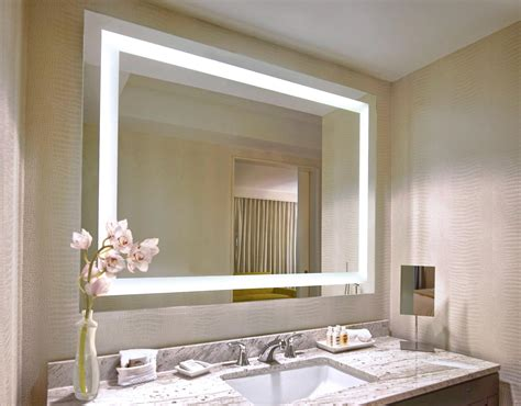 selecting lighted mirror   shape  homy design
