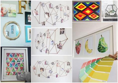 20 creative diy project ideas 20 creative diy geometric decor ideas