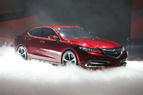 jdm acura tlx 2015 acura tlx prototype first look motor trend
