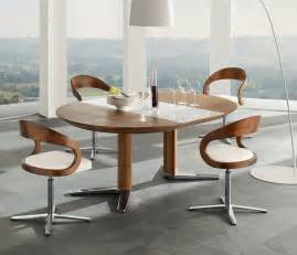 White Pedestal Table With Leaf Luxury Dining Tables Team7 Girado Wharfside Dining