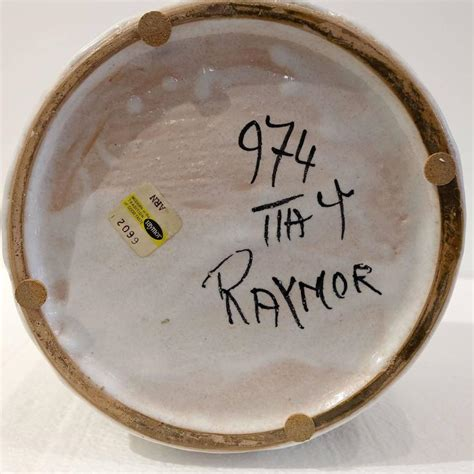 Raymor L by Raymor Ceramic Vase By Fantoni For Sale At 1stdibs