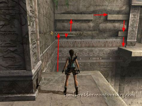 tomb raider anniversary walkthrough tomb raider anniversary egypt obelisk of khamoon visual