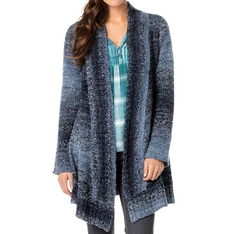 Duster Sweaters by Prana Rhonda Duster Cardigan Sweater For 8900j