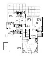 Galley kitchen hwbdo02123 cottage house plan from print this floor