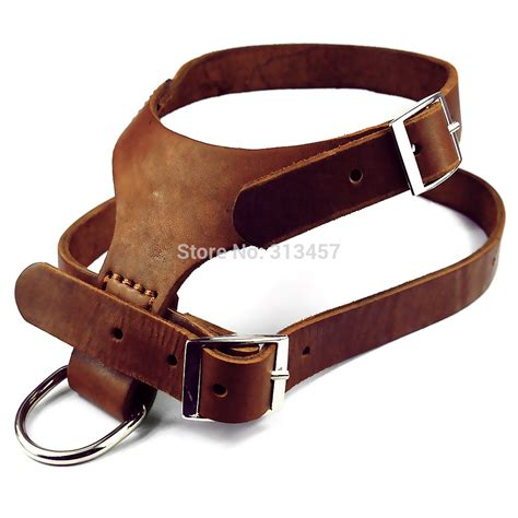 Handmade Harness - 100 handmade real genuine leather harness soft