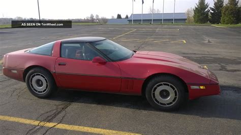 1984 c4 corvette convertible automatic 5 7 liter engine