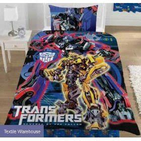 Sale Transformer Lunch Set transformers duvet cover of the fallen