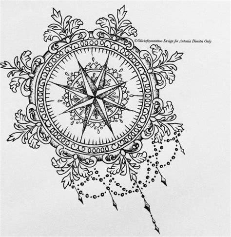 tattoo compass mandala 1000 id 233 es sur le th 232 me mandala compass tattoo sur