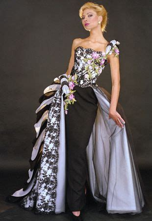 Ophelia Fancy Catwalk Pictures by Haute Couture Dress From Blanka Matragi S 15th Anniversary