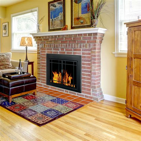 fireplace doors installation pleasant hearth fireplace doors installation fireplaces