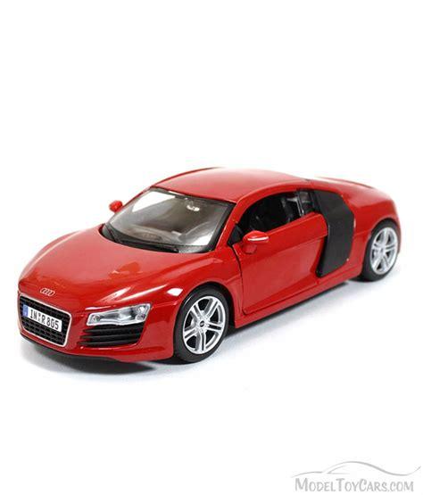Audi R8 Spielzeugauto by Audi R8 Top Maisto 31281r 1 24 Scale Diecast