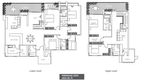 1 desa residence floor plan the peak residences penang property talk