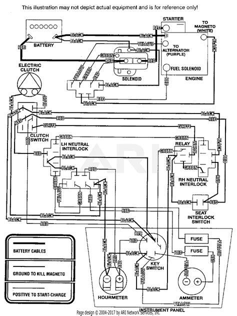 Scag SSZ4216BV (40000-49999) Parts Diagram for ELECTRICAL