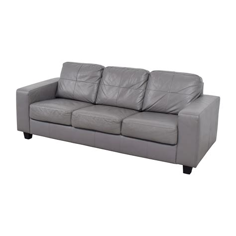 ikea gray sofa 41 off ikea ikea skogaby sofa in light grey sofas
