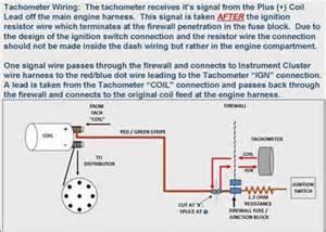 tach wire freeautomechanic