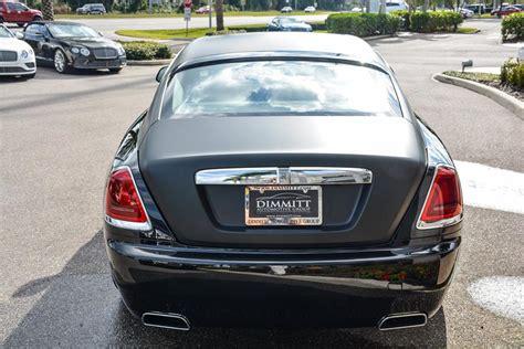 matte rolls royce cool matte black rolls royce wraith
