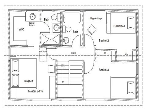easy floor planner simple small house plans simple house floor plan simple