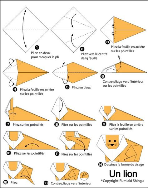 Beginner Origami Animals - paper craft origami